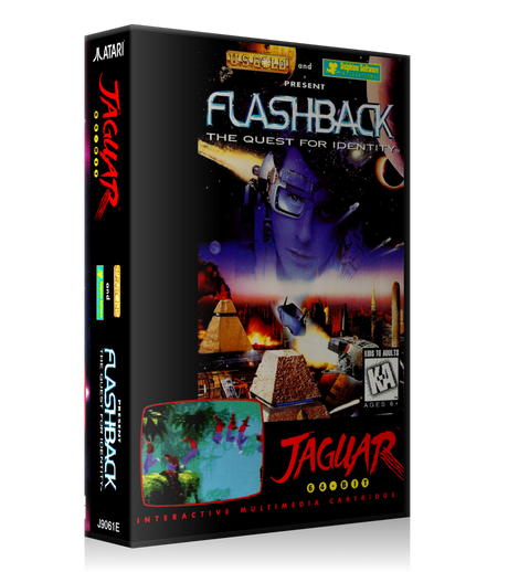 Atari Jaguar Flashback REPLACEMENT Game Case Or Cover