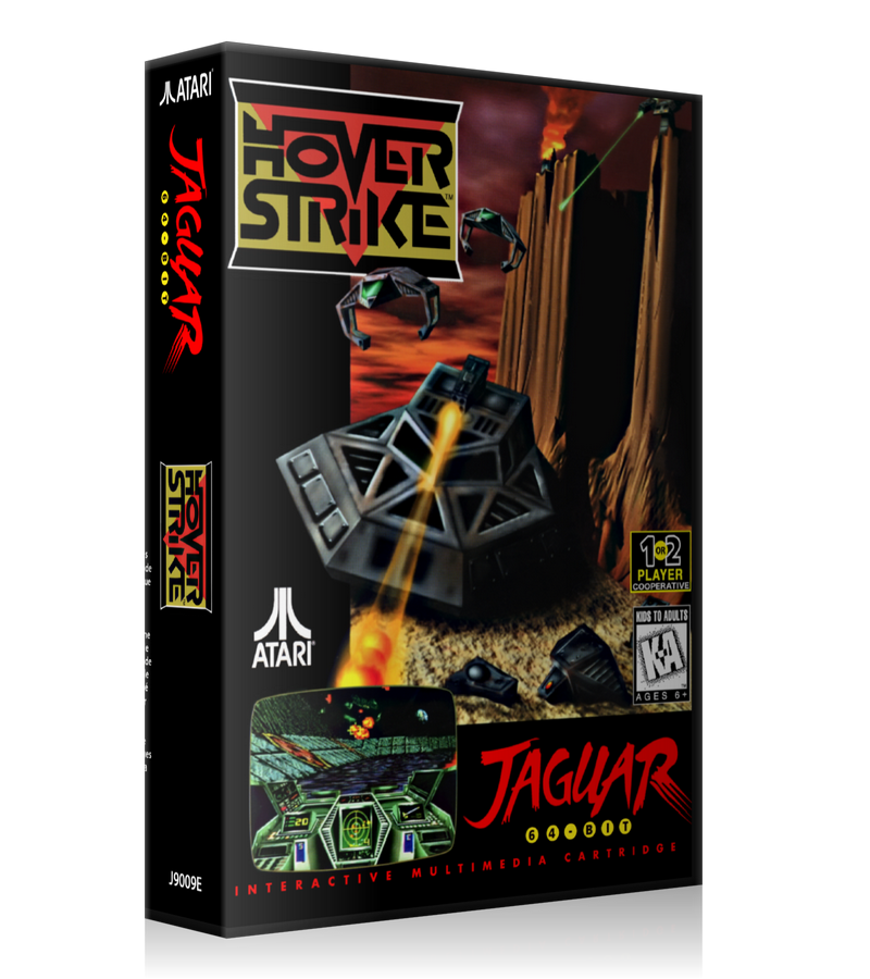 Atari Jaguar Hover Strike REPLACEMENT Game Case Or Cover