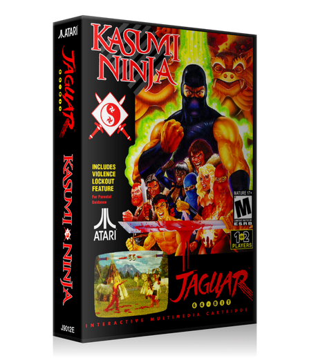 Atari Jaguar Kasumi Ninja REPLACEMENT Game Case Or Cover
