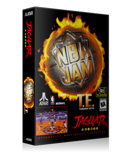 Atari Jaguar NBA JAM REPLACEMENT Game Case Or Cover