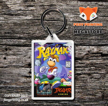 Rayman - Game Inspired Retro Gaming Keyring