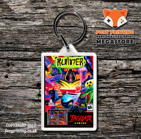 Ruiner Pinball - Game Inspired Retro Gaming Keyring