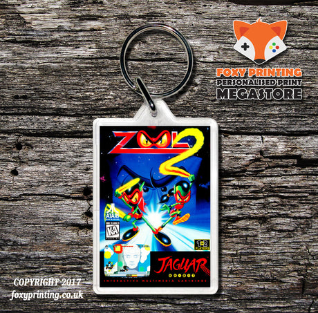 Zool 2 - Game Inspired Retro Gaming Keyring