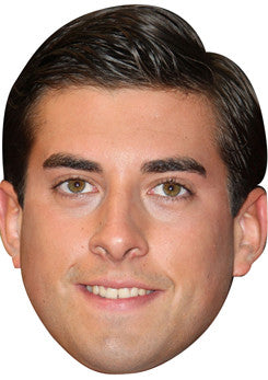 James Argent TOWIE Celebrity Face Mask FANCY DRESS HEN BIRTHDAY PARTY FUN STAG DO HEN