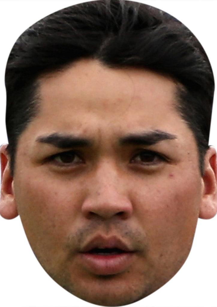 Jason Day GOLF 2018 Celebrity Face Mask FANCY DRESS HEN BIRTHDAY PARTY FUN STAG DO HEN