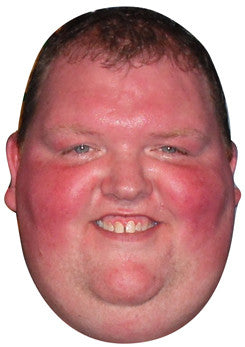 Big John Henderson Lakeside DARTS Celebrity Face Mask FANCY DRESS HEN BIRTHDAY PARTY FUN STAG DO HEN