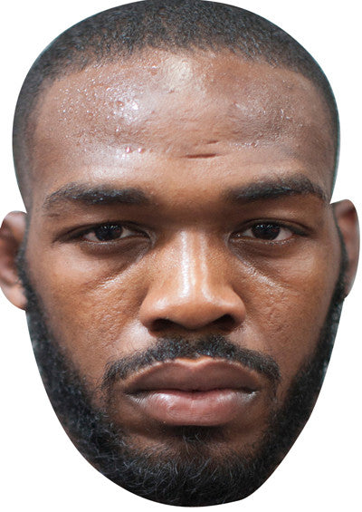 Jon Jones UFC SPORTS Celebrity Face Mask FANCY DRESS HEN BIRTHDAY PARTY FUN STAG DO HEN