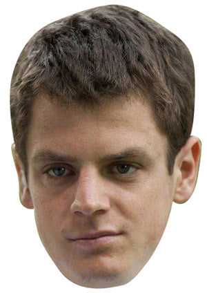 Jonathan Brownlee Celebrity Face Mask FANCY DRESS HEN BIRTHDAY PARTY FUN STAG DO HEN