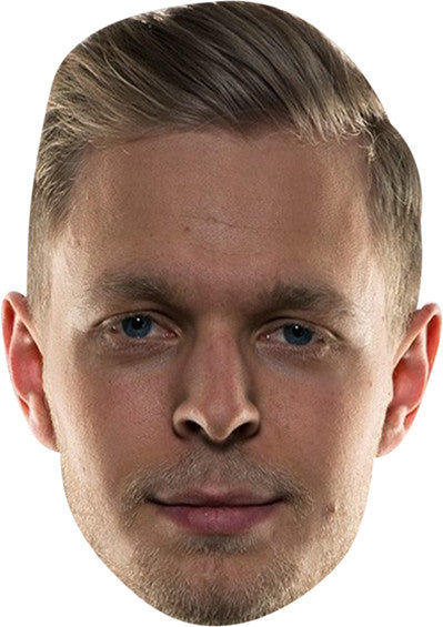 Kevin Magnussen Celebrity Face Mask FANCY DRESS HEN BIRTHDAY PARTY FUN STAG DO HEN