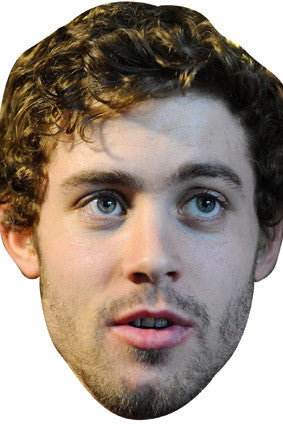 Leigh Halfpenny New Celebrity Face Mask FANCY DRESS HEN BIRTHDAY PARTY FUN STAG DO HEN