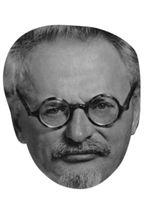 Leon Trotsky Celebrity Face Mask FANCY DRESS HEN BIRTHDAY PARTY FUN STAG DO HEN