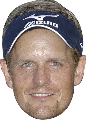 Luke Donald GOLF 2018 Celebrity Face Mask FANCY DRESS HEN BIRTHDAY PARTY FUN STAG DO HEN