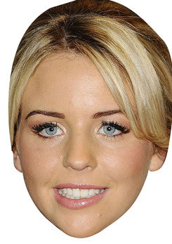 Lydias Wright TOWIE Celebrity Face Mask FANCY DRESS HEN BIRTHDAY PARTY FUN STAG DO HEN