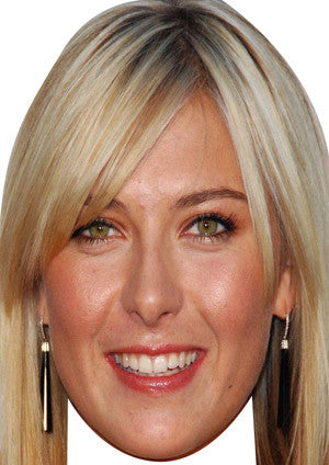 Maria Sharapova  TENNIS Celebrity Face Mask FANCY DRESS HEN BIRTHDAY PARTY FUN STAG DO HEN