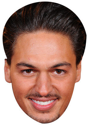 Mario Falcone TOWIE Celebrity Face Mask FANCY DRESS HEN BIRTHDAY PARTY FUN STAG DO HEN