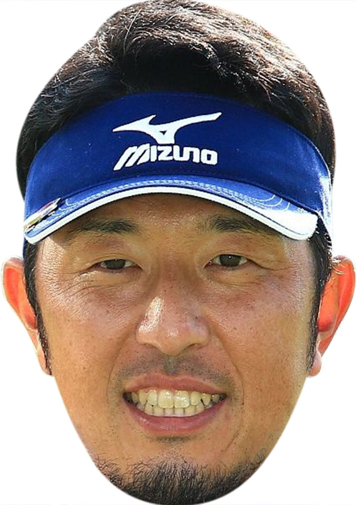 Masanori Kobayashi GOLF 2018 Celebrity Face Mask FANCY DRESS HEN BIRTHDAY PARTY FUN STAG DO HEN