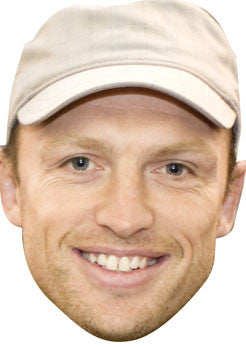 Matt Dawson Rugby Celebrity Face Mask FANCY DRESS HEN BIRTHDAY PARTY FUN STAG DO HEN