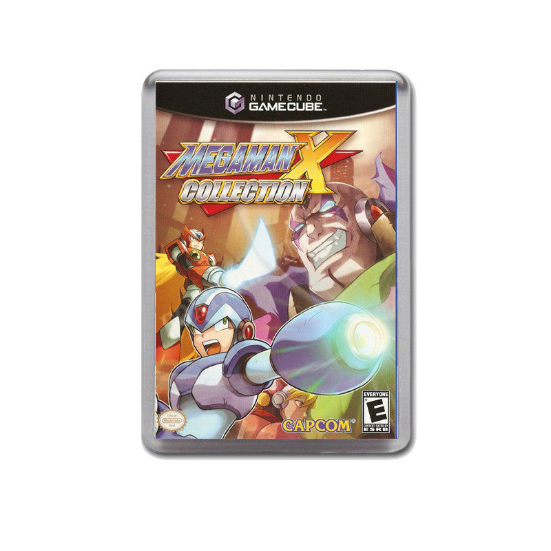 Mega Man X Collection Style Inspired Game Gamecube Retro Video Gaming Magnet
