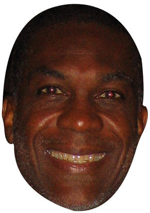 Michael Holding Celebrity Face Mask FANCY DRESS HEN BIRTHDAY PARTY FUN STAG DO HEN