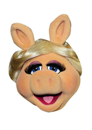 Miss Piggy Celebrity Face Mask FANCY DRESS HEN BIRTHDAY PARTY FUN STAG DO HEN
