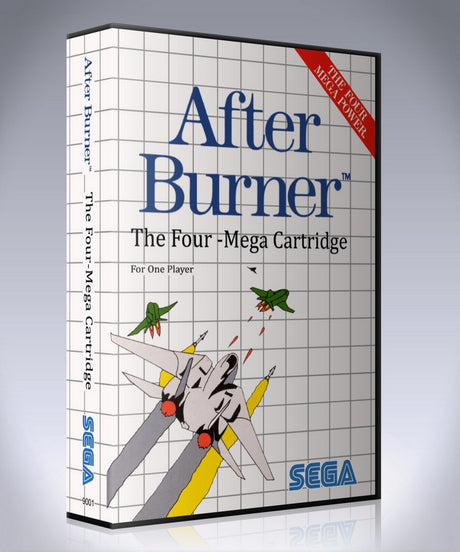 After Burner 2 EUNAME Sega Master System REPLACEMENT GAME Case Or Cover