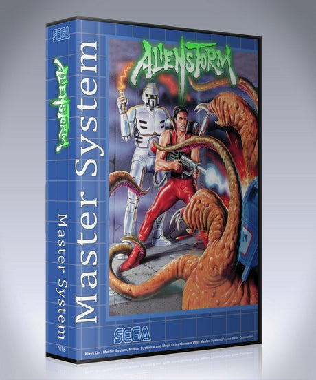 Alien Storm 2 GB Sega Master System REPLACEMENT GAME Case Or Cover