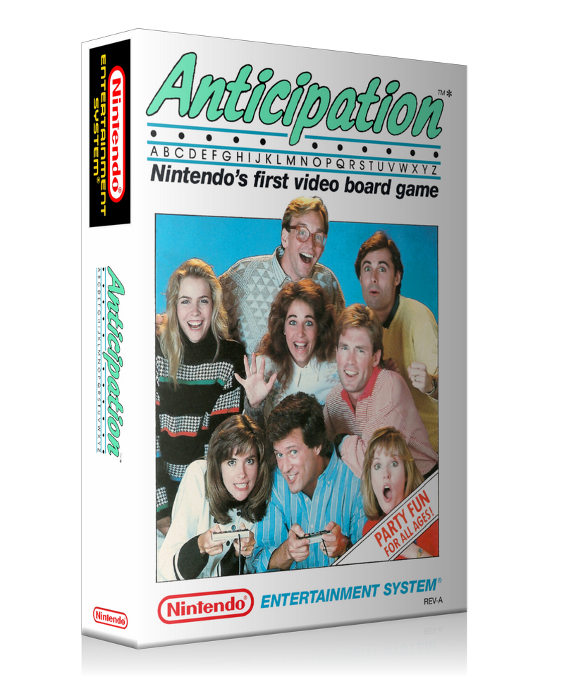 NES Anticipation Retail Game Cover To Fit A UGC Style Replacement Game Case