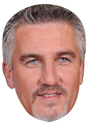 Paul Hollywood Celebrity Face Mask FANCY DRESS HEN BIRTHDAY PARTY FUN STAG DO HEN