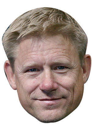 Peter Schmeichel Celebrity Face Mask FANCY DRESS HEN BIRTHDAY PARTY FUN STAG DO HEN