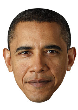 President Barack Obama Celebrity Face Mask FANCY DRESS HEN BIRTHDAY PARTY FUN STAG DO HEN