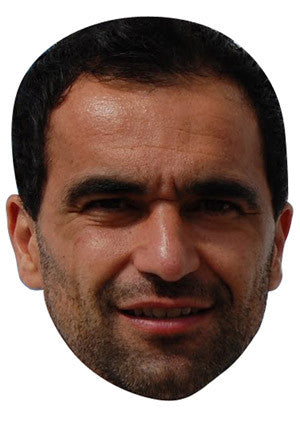 Roberto Martinez Celebrity Face Mask FANCY DRESS HEN BIRTHDAY PARTY FUN STAG DO HEN