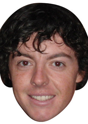 Rory Mcilroy Golf Face Masks GOLF 2018 Celebrity Face Mask FANCY DRESS HEN BIRTHDAY PARTY FUN STAG DO HEN