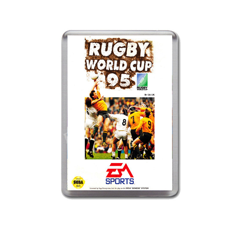 Rugby World Cup 95 Au Game Style Inspired Sega Megadrive Retro Video Gaming  Magnet