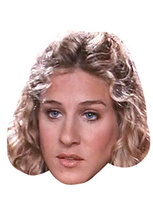 Sarah Jessica Parker Footloose Celebrity Face Mask FANCY DRESS HEN BIRTHDAY PARTY FUN STAG DO HEN