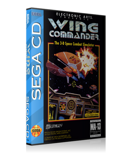 Wingcommander REPLACEMENT Retro Gaming Case