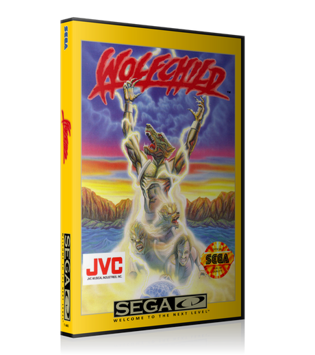 Wolfchild 3 REPLACEMENT Retro Gaming Case