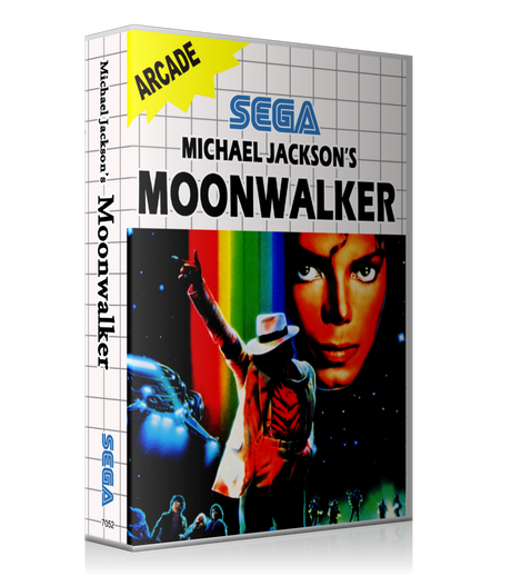 Michael Jacksons Moon Walker Eu Sega Master System REPLACEMENT GAME Case Or Cover