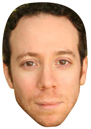Stuart Big Bang Theory Celebrity Face Mask FANCY DRESS HEN BIRTHDAY PARTY FUN STAG DO HEN