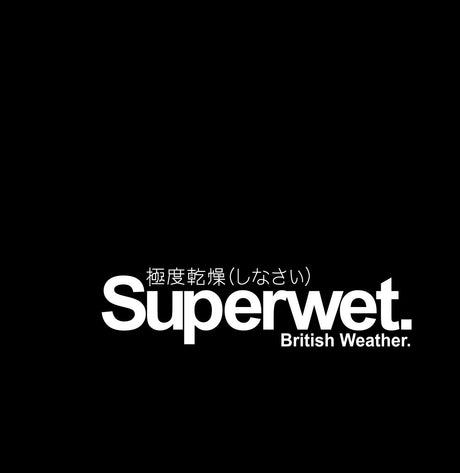 Superwet Novelty Vinyl JDM / Drift / Sports Car / Window / Bumper Sticker / Decal