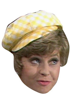 Sybil Fawlty Celebrity Face Mask FANCY DRESS HEN BIRTHDAY PARTY FUN STAG DO HEN