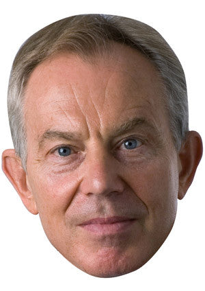 Tony Blair New Celebrity Face Mask FANCY DRESS HEN BIRTHDAY PARTY FUN STAG DO HEN