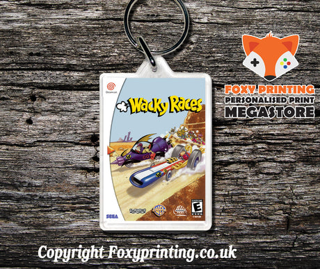 Wackyraces - Sega Dreamcast Game Keyring