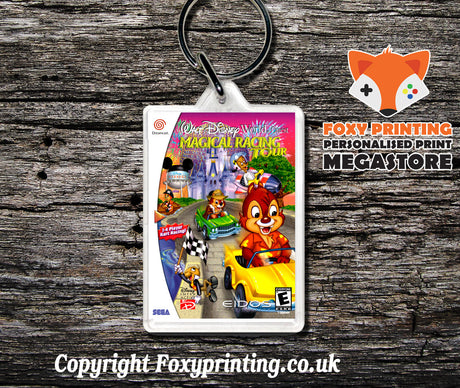 Waltdisneyworldquestmagicalracingtour - Sega Dreamcast Game Keyring