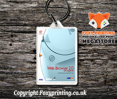 Webbrowser2 - Sega Dreamcast Game Keyring