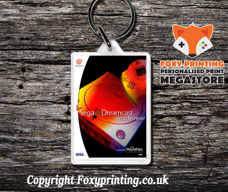 Webbrowser - Sega Dreamcast Game Keyring