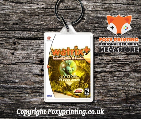 Wetrix - Sega Dreamcast Game Keyring