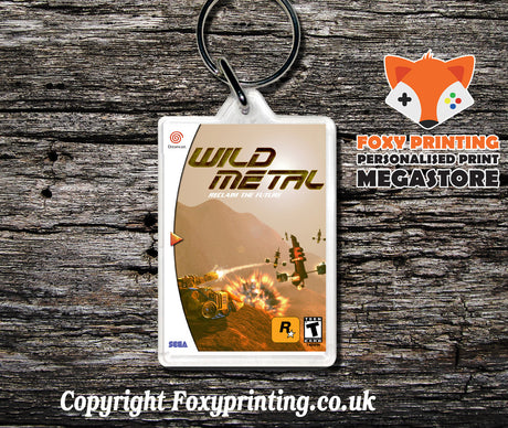 Wildmetal - Sega Dreamcast Game Keyring