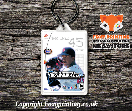 Worldseries2k2 - Sega Dreamcast Game Keyring