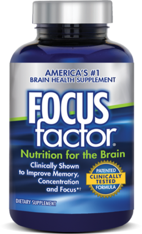 Focus Factor - Available at a fine retailer near you