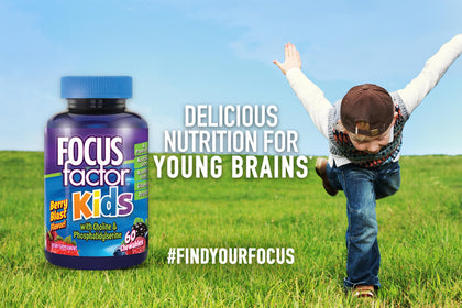 Delicious nutrition for young brains*